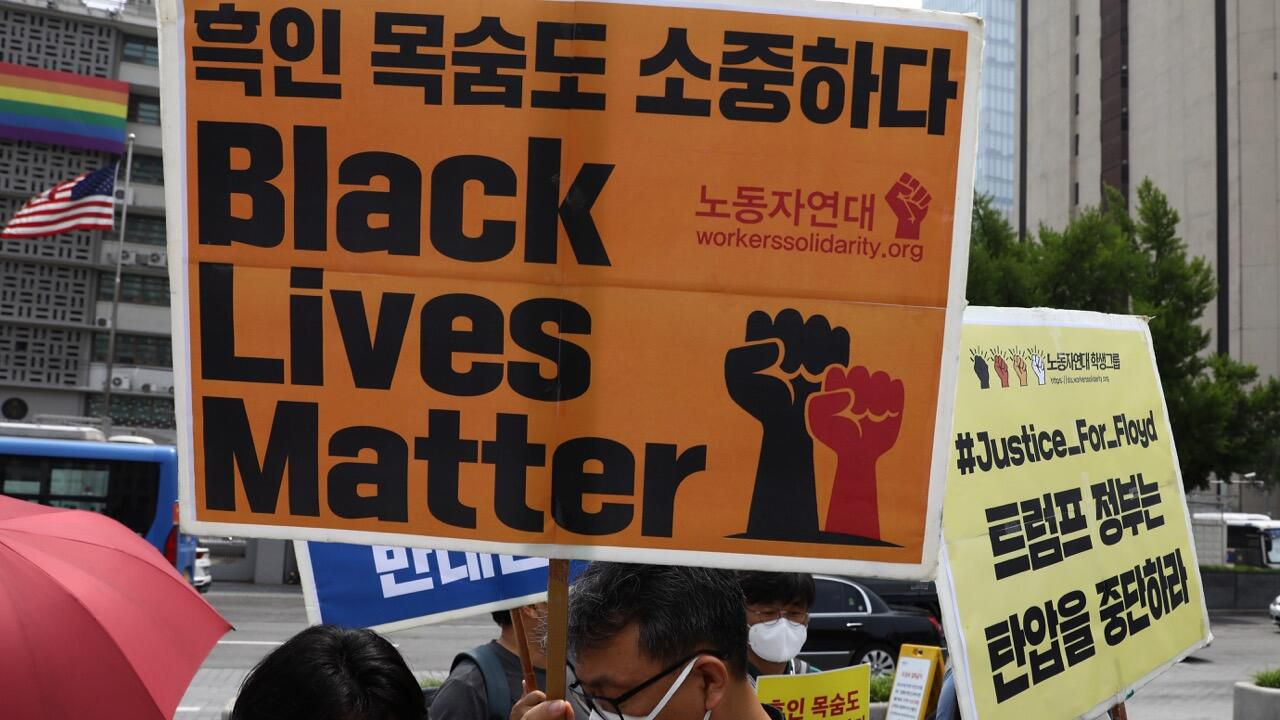 World scenes of Black Lives Matter protests present outrage far past US