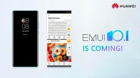 Older Huawei units get new options with EMUI 10.1 replace