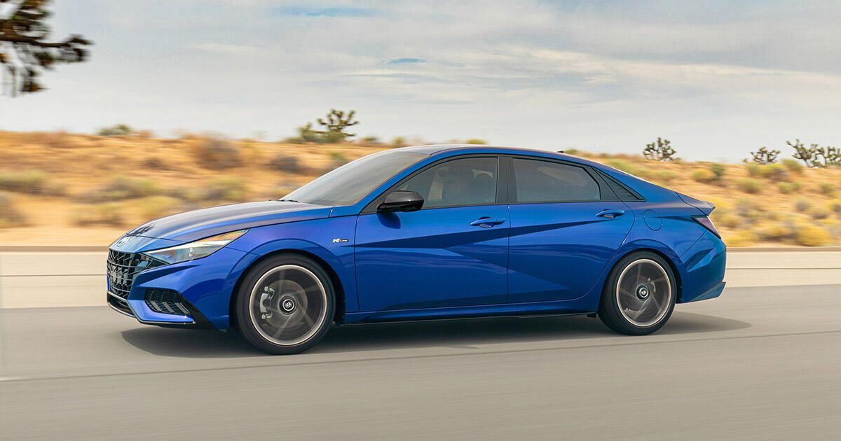2021 Hyundai Elantra will get the sporty N Line therapy     – Roadshow