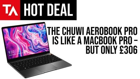 Chuwi's MacBook Professional Lookalike Now Obtainable for Simply £306, Saving £138