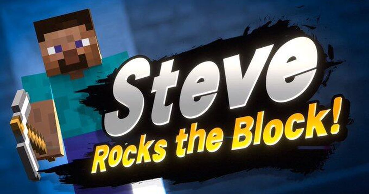 Tremendous Smash Bros. Final provides Steve from Minecraft on Oct. 13