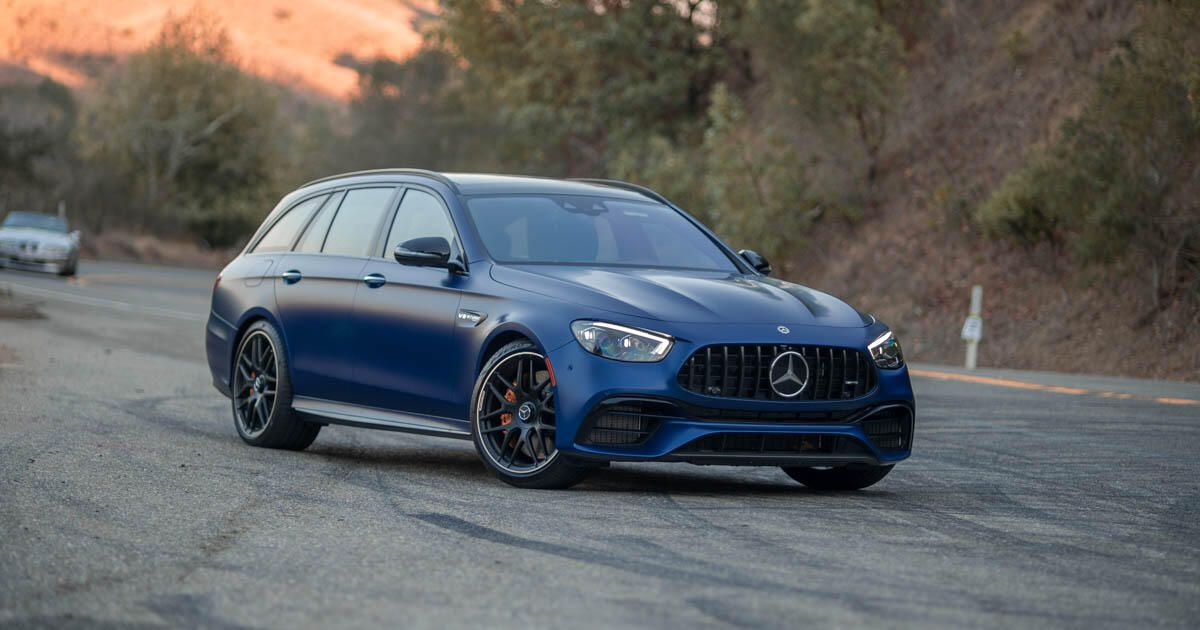 2021 Mercedes-AMG E63 S Wagon first drive assessment: Save the unicorns!