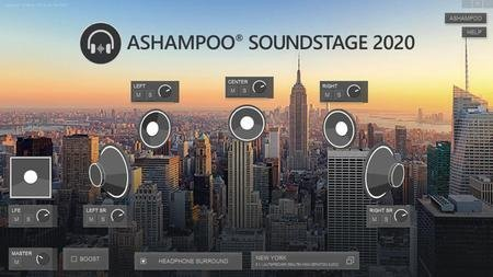 Increase PC audio with Ashampoo Soundstage