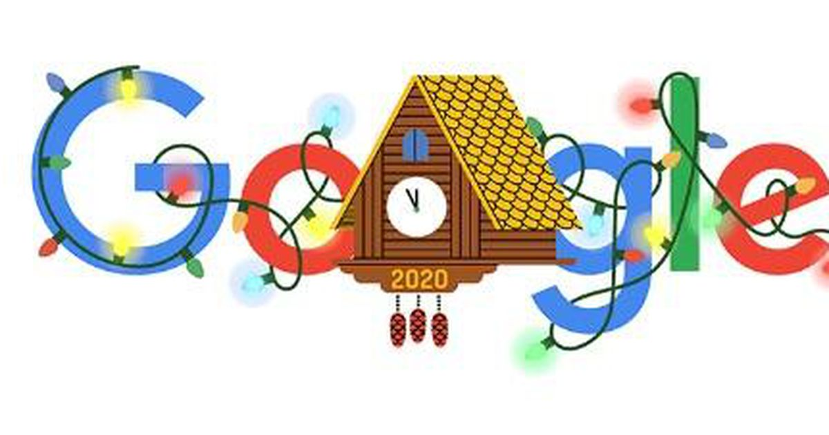 Google Doodle goes cuckoo to usher in New Yr's Eve
