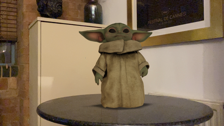 How To Get 3D Pictures Of The Mandalorian's Child Yoda Utilizing Google AR