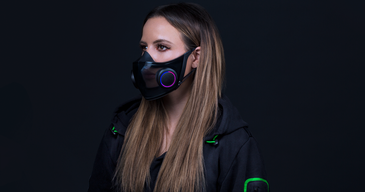 CES 2021: Razer's Venture Hazel is a high-tech N95 masks for COVID-19 occasions that appears neat too