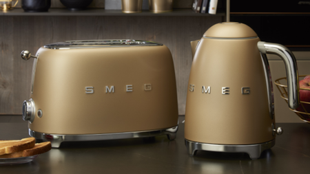 Smeg's Kettle And Toaster Units Have A New Matte Look
