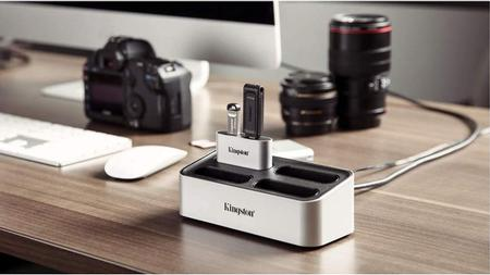 Kingston Workflow Station dock evaluation for photographers and video