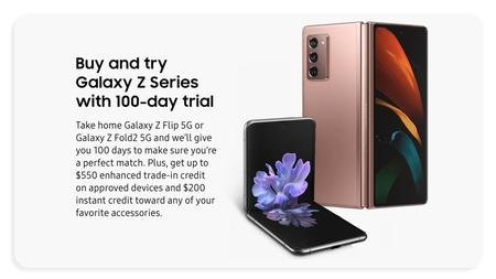 Samsung providing 100-day returns for Galaxy Z foldables within the US