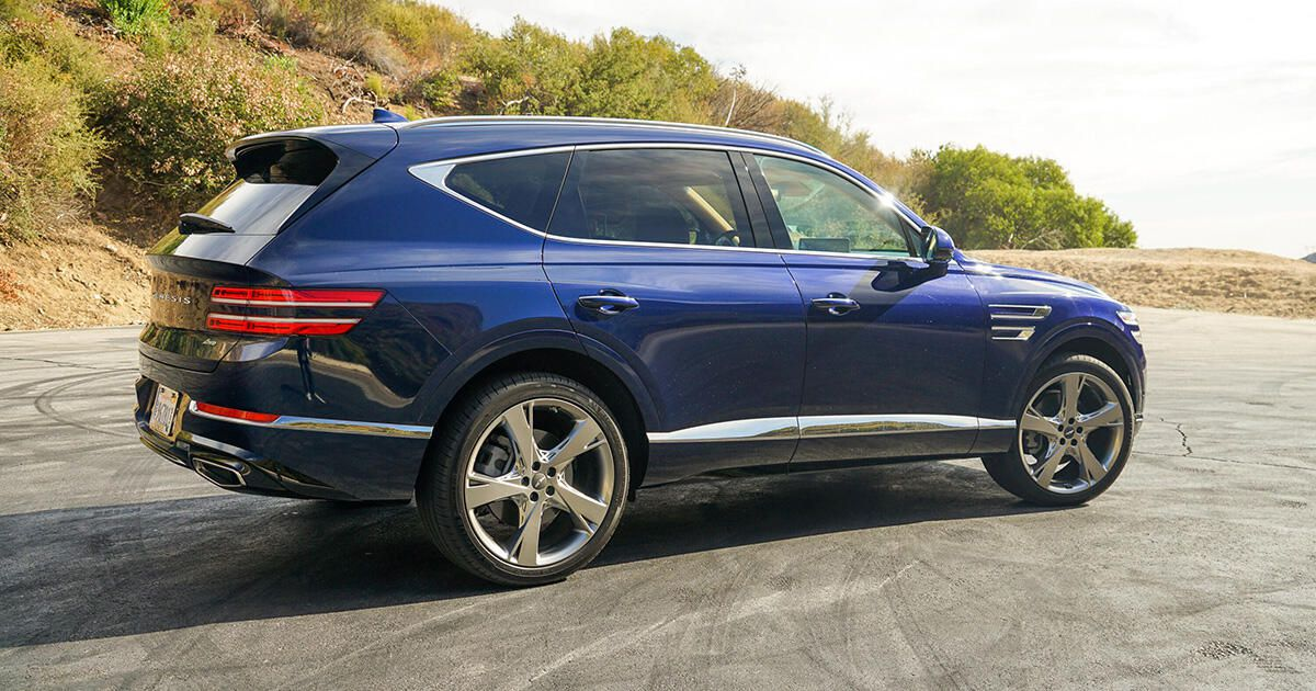 2021 Genesis GV80 2.5T overview: A well-rounded luxurious SUV