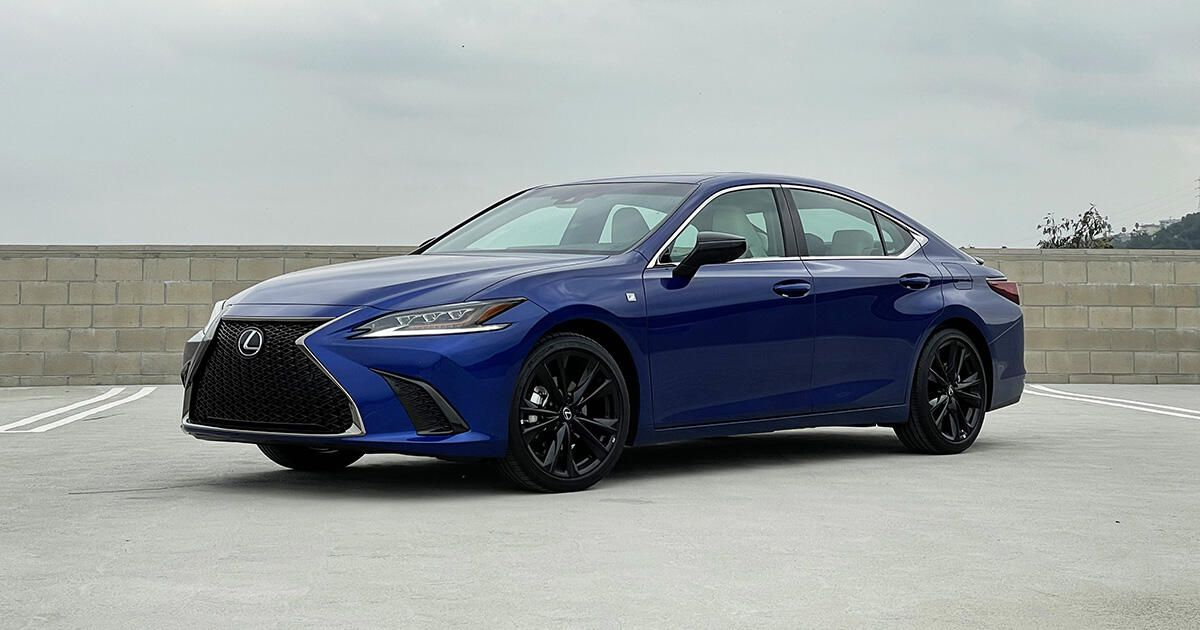2021 Lexus ES 350 evaluation: Sporty appears to be like, however a cruiser at coronary heart