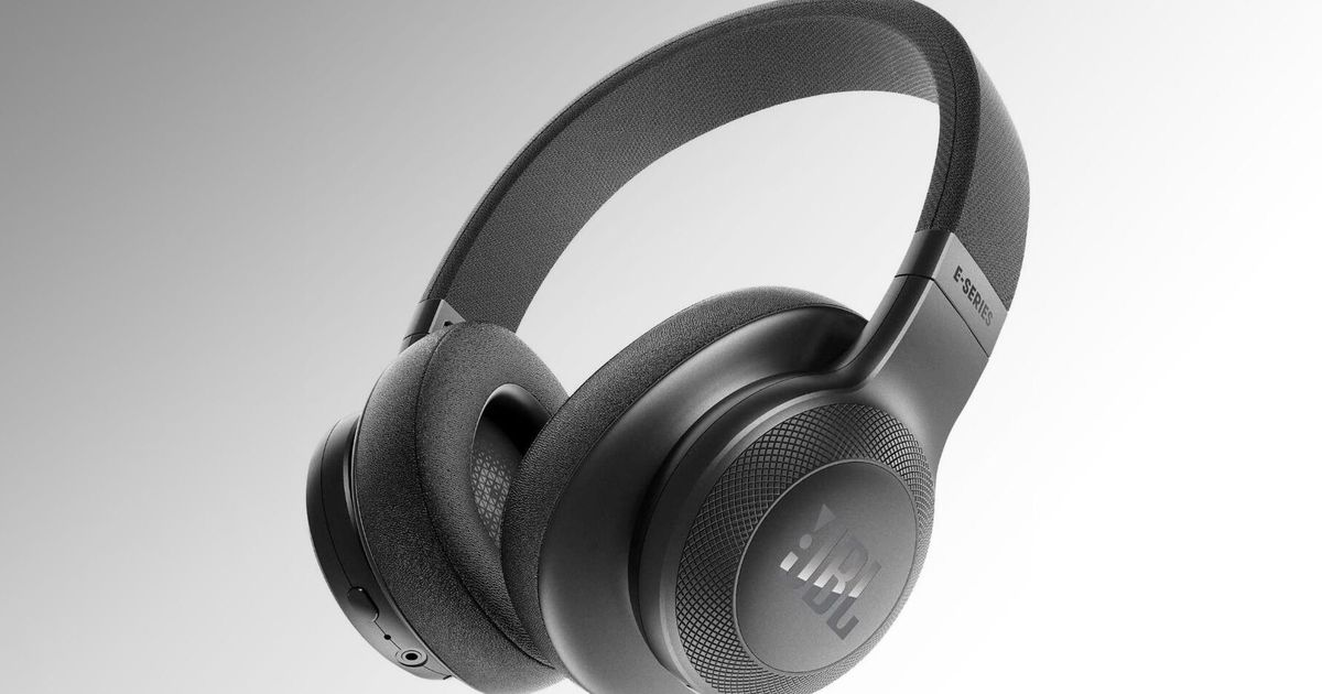 Deal with your ears to the JBL E55BT Wi-fi Over-Ear Headphones for simply $50