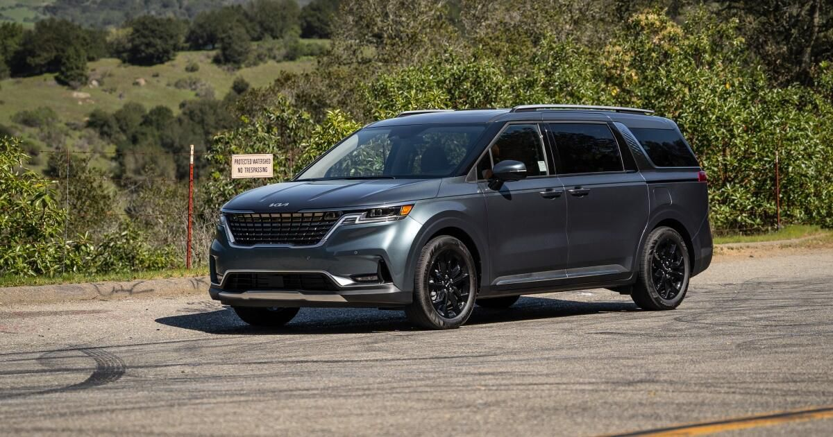 2022 Kia Carnival first drive evaluation: An opulent minivan with SUV fashion