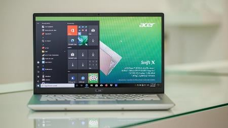 Acer Swift X Packs an RTX 3050 Ti and Ryzen 5000 Processors