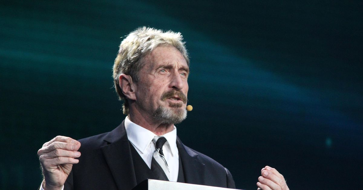 John McAfee's tumultuous life in tech and why it mattered