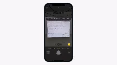 Live Text Lets iPhones on iOS 15 Search Text in the Camera App