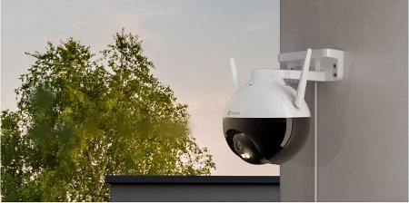 Outdoor CCTV Camera With All The Frills