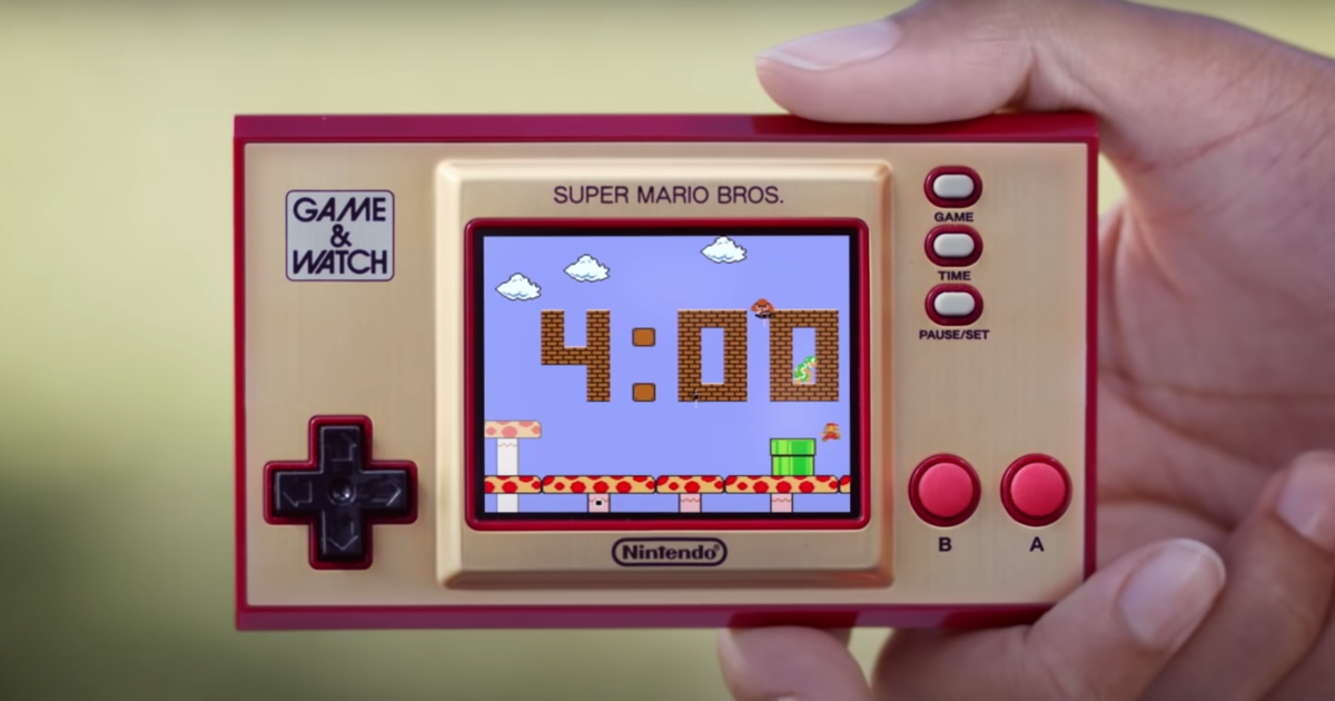 Prime Day: Super Mario Game & Watch still available at Best Buy for $40 (save $10)