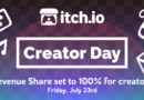 Itch.io's Second Creator Day Is Giving 100% Of Revenue To Developers
