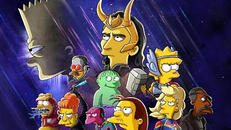 The Simpsons and Loki Crossover Arrives On Disney+ Next Week