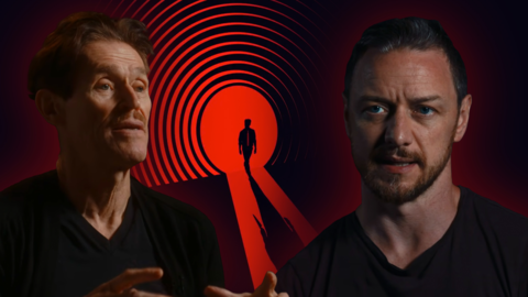 Willem Dafoe And James McAvoy Talk The Splendor Of Acting In The Time-Loop Thriller Twelve Minutes