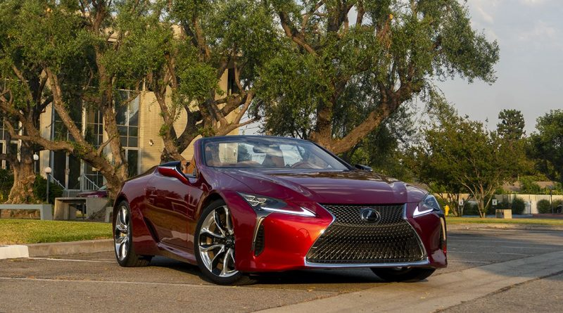 2021 Lexus LC 500 Convertible review: Stunning looks above all