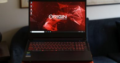 Origin PC Eon15-X review: 12 cores, if you need them